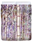 Bamboo Texture Duvet Cover