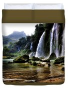 Ban Gioc Vietnam's Most Beautiful Waterfall  Duvet Cover