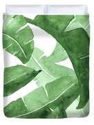 Banana Leaves  3 Duvet Cover