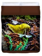 Banana Slug Duvet Cover