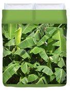 Banana Trees Duvet Cover