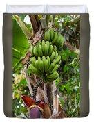 Bananas In Africa Duvet Cover