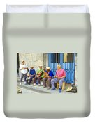 Band Of Locals Duvet Cover