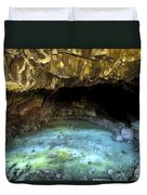 Bandera Ice Cave Duvet Cover