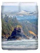 Bandon Oregon Duvet Cover
