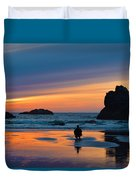 Bandon Sunset Photographer Duvet Cover