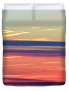 Bands Of Colour Three  Duvet Cover