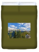 Banff Gondola Duvet Cover