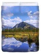 Banff Reflection Duvet Cover