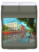 Bangkok Reflections Duvet Cover