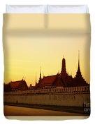 Bangkok Royal Palace Complex Duvet Cover