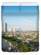 Bangkok Senic Duvet Cover by Atiketta Sangasaeng