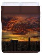 Bangkok Sunrise Duvet Cover