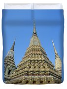 Bangkok, Wat Po Duvet Cover