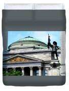 Bank Of Montreal Dome Duvet Cover