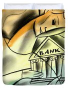 Banking Duvet Cover