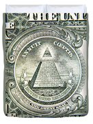 Banknote Detail Duvet Cover
