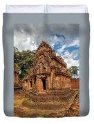 Banteay Srei Mandapa Sanctuary - Cambodia Duvet Cover