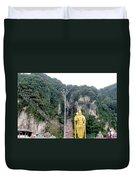 Bantu Caves, Malaysia Duvet Cover