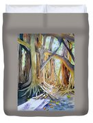 Banyan Shadow And Light Duvet Cover