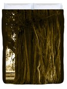 Banyan Surfer - Triptych  Part 1 Of 3 Duvet Cover