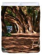 Banyans - Marie Selby Botanical Gardens Duvet Cover