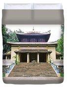 Bao Tang Temple Ho Chi Minh City Duvet Cover