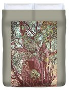 Baoba In Foliage Duvet Cover
