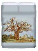 Baobab Tree Of Africa Duvet Cover
