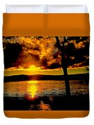 Baptized By Fire Duvet Cover