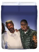 Baptized In His Glory Duvet Cover
