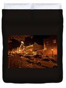 Bar Harbor Nights Duvet Cover