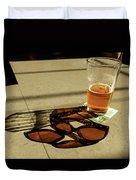 Bar Shadows Duvet Cover