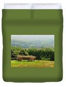 Baraboo Hillside Duvet Cover