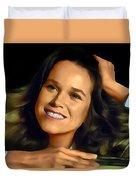 Barbara Hershey Duvet Cover