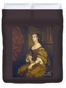Barbara Villiers, Duchess Of Cleveland Duvet Cover
