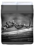Barbed Wire Duvet Cover