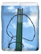 Barbed Wire Sky Duvet Cover