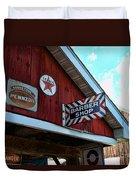 Barber - Old Barber Shop Sign Duvet Cover