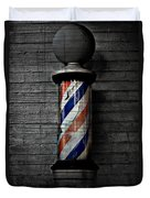 Barber Pole Blues  Duvet Cover