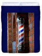 Barber Pole Duvet Cover