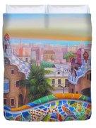Barcelona 2 Duvet Cover