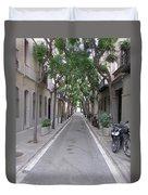 Barcelona Barrio Duvet Cover