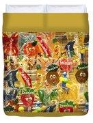 Barcelona Candy Duvet Cover