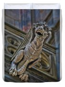 Barcelona Dragon Gargoyle Duvet Cover