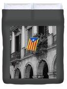 Barcelona - Estelada Duvet Cover