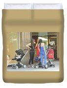 Barcelona Moms Duvet Cover