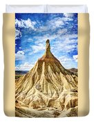 Bardenas Desert Last Man Standing - Vintage Version Duvet Cover
