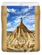 Bardenas Desert Last Man Standing Duvet Cover