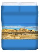 Bardenas Desert Panorama 3 Duvet Cover